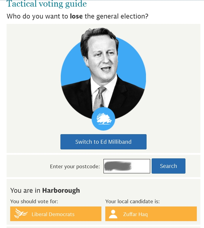 telegraph tactical voter